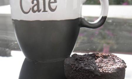 Kaffetasse mit Kaffeesatz